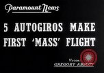 Image of YG-1B auto-gyros Dayton Ohio USA, 1938, second 6 stock footage video 65675032872