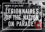 Image of Legionaries Los Angeles California USA, 1938, second 4 stock footage video 65675032881