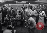 Image of Harmon Trophy Washington DC White House USA, 1954, second 10 stock footage video 65675032887