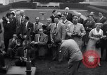 Image of Harmon Trophy Washington DC White House USA, 1954, second 11 stock footage video 65675032887
