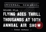 Image of 10th All American Air Maneuvers Miami Florida USA, 1937, second 1 stock footage video 65675032888