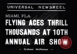 Image of 10th All American Air Maneuvers Miami Florida USA, 1937, second 4 stock footage video 65675032888