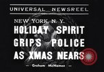 Image of policemen New York City USA, 1937, second 2 stock footage video 65675032890