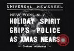 Image of policemen New York City USA, 1937, second 3 stock footage video 65675032890