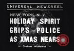 Image of policemen New York City USA, 1937, second 4 stock footage video 65675032890