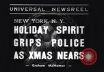 Image of policemen New York City USA, 1937, second 6 stock footage video 65675032890