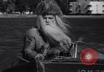 Image of Santa Claus on water skis Miami Florida USA, 1937, second 11 stock footage video 65675032891