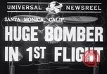 Image of First flight of the XB-19 bomber California, 1941, second 6 stock footage video 65675032894