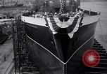 Image of cargo vessel Long Beach California USA, 1941, second 8 stock footage video 65675032898