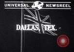 Image of Mrs Sarah Weyand Dallas Texas USA, 1941, second 2 stock footage video 65675032901