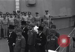 Image of peace treaty Tokyo Bay Japan, 1945, second 2 stock footage video 65675032942