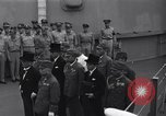 Image of peace treaty Tokyo Bay Japan, 1945, second 4 stock footage video 65675032942