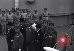 Image of peace treaty Tokyo Bay Japan, 1945, second 6 stock footage video 65675032942
