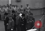 Image of peace treaty Tokyo Bay Japan, 1945, second 7 stock footage video 65675032942