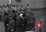 Image of peace treaty Tokyo Bay Japan, 1945, second 8 stock footage video 65675032942