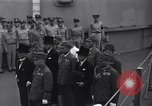 Image of peace treaty Tokyo Bay Japan, 1945, second 9 stock footage video 65675032942