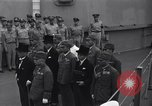Image of peace treaty Tokyo Bay Japan, 1945, second 10 stock footage video 65675032942