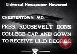 Image of Franklin D Roosevelt Chestertown Maryland USA, 1933, second 10 stock footage video 65675032943