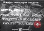 Image of turkey Westley California USA, 1933, second 1 stock footage video 65675032944