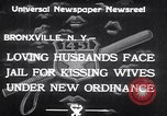 Image of new traffic law Bronxville New York USA, 1933, second 6 stock footage video 65675032947