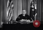 Image of President Harry S Truman announcing surrender of Germany United States USA, 1945, second 7 stock footage video 65675032950