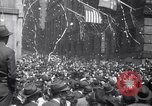 Image of Crowds in New York City celebrate end of World War II in Europe New York City USA, 1945, second 7 stock footage video 65675032951
