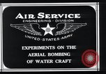 Image of aerial bomb experiments Virginia Capes United States USA, 1921, second 7 stock footage video 65675033215