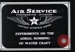 Image of aerial bomb experiments Virginia Capes United States USA, 1921, second 8 stock footage video 65675033215