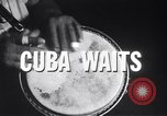 Image of Havana Cuba as place of gaiety and commercial activity Cuba, 1959, second 8 stock footage video 65675033246