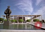 Image of Mark Taper Forum Music Center Los Angeles California USA, 1976, second 4 stock footage video 65675033260