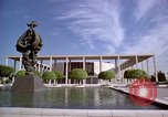 Image of Mark Taper Forum Music Center Los Angeles California USA, 1976, second 12 stock footage video 65675033260