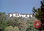Image of Hollywood sign Hollywood Los Angeles California USA, 1976, second 7 stock footage video 65675033261