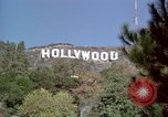 Image of Hollywood sign Hollywood Los Angeles California USA, 1976, second 12 stock footage video 65675033261