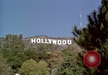 Image of Hollywood sign Hollywood Los Angeles California USA, 1976, second 6 stock footage video 65675033262