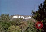 Image of Hollywood sign Hollywood Los Angeles California USA, 1976, second 7 stock footage video 65675033262