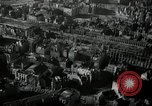 Image of aerial views of damage from WW2 Berlin Germany, 1947, second 3 stock footage video 65675033264