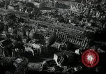 Image of aerial views of damage from WW2 Berlin Germany, 1947, second 4 stock footage video 65675033264