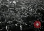 Image of aerial views of damage from WW2 Berlin Germany, 1947, second 6 stock footage video 65675033264