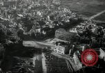 Image of aerial views of damage from WW2 Berlin Germany, 1947, second 10 stock footage video 65675033264