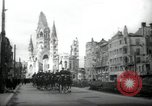 Image of American horse platoon Berlin Germany, 1947, second 1 stock footage video 65675033267