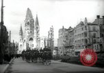 Image of American horse platoon Berlin Germany, 1947, second 2 stock footage video 65675033267