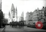 Image of American horse platoon Berlin Germany, 1947, second 3 stock footage video 65675033267