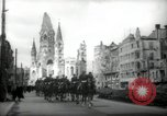 Image of American horse platoon Berlin Germany, 1947, second 4 stock footage video 65675033267
