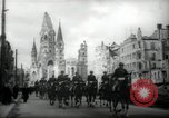 Image of American horse platoon Berlin Germany, 1947, second 7 stock footage video 65675033267