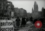 Image of repair work Berlin Germany, 1947, second 5 stock footage video 65675033269