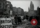 Image of repair work Berlin Germany, 1947, second 6 stock footage video 65675033269
