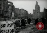 Image of repair work Berlin Germany, 1947, second 8 stock footage video 65675033269