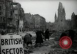 Image of repair work Berlin Germany, 1947, second 9 stock footage video 65675033269