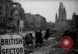 Image of repair work Berlin Germany, 1947, second 10 stock footage video 65675033269