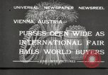 Image of exhibition Vienna Austria, 1932, second 1 stock footage video 65675033274